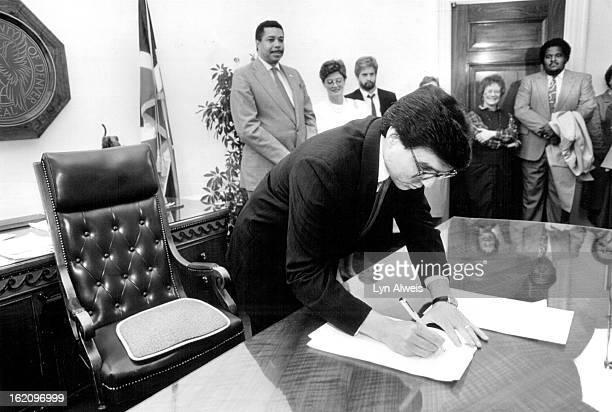 OCT 20 1990 Pena Federico Anti Discrimination for Gays