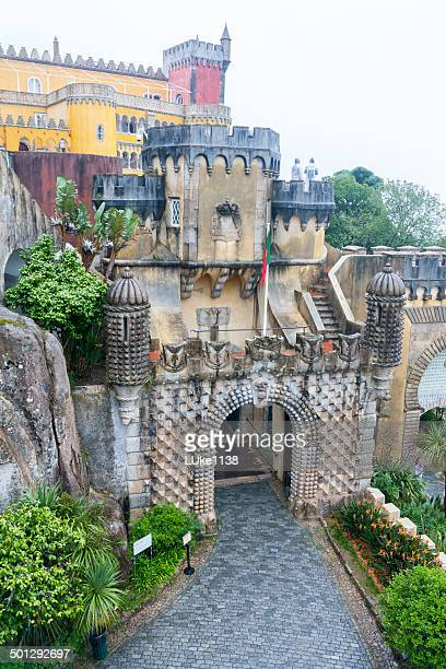 pena national palace - sintra stock pictures, royalty-free photos & images