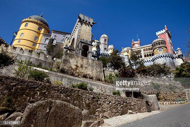 Pena Palace Sintra in Portugal