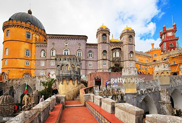 pena palace, portugal - sintra stock pictures, royalty-free photos & images