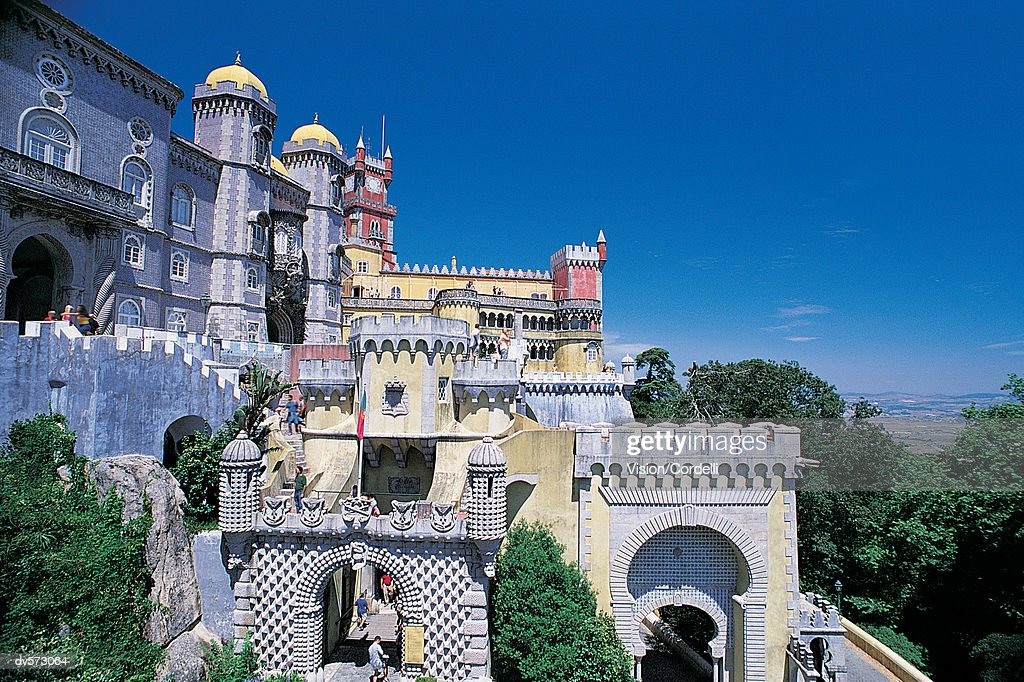 Pena Palace, Sintra, Portugal : Stock Photo