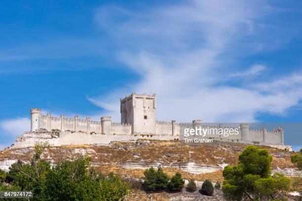 Penafiel Castle in Penafiel Valladolid Province Spain