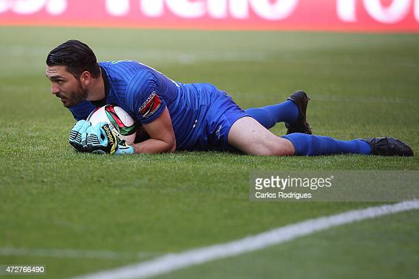 Penafiel's goalkeeper Alireza Haghighi during the Primeira Liga match between SL Benfica and Penafiel FC at Estadio da Luz on May 9 2015 in Lisbon...