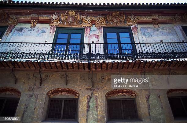 Penaflor Palace, Ecija, Andalusia. Detail. Spain, 18th century.
