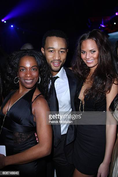 Penal HailesChambers John Legend and Chrissy Teigen attend ESQUIRE MAGAZINE Presents The Official CIPRIANI NEW YEARS EVE PARTY at Cipriani 55 Wall St...