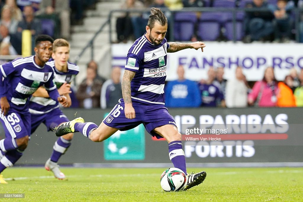 Rsc Anderlecht v STVV - Jupiler Pro League : News Photo