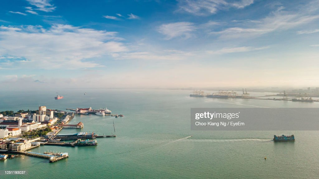 This Is Penang, Shot On Butterworth Ferry Editorial Stock