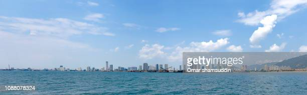 Penang skyline captured from the sea