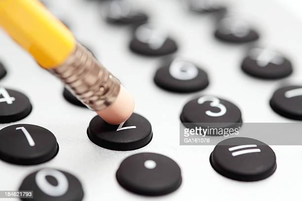 Penna e Calcolatrice