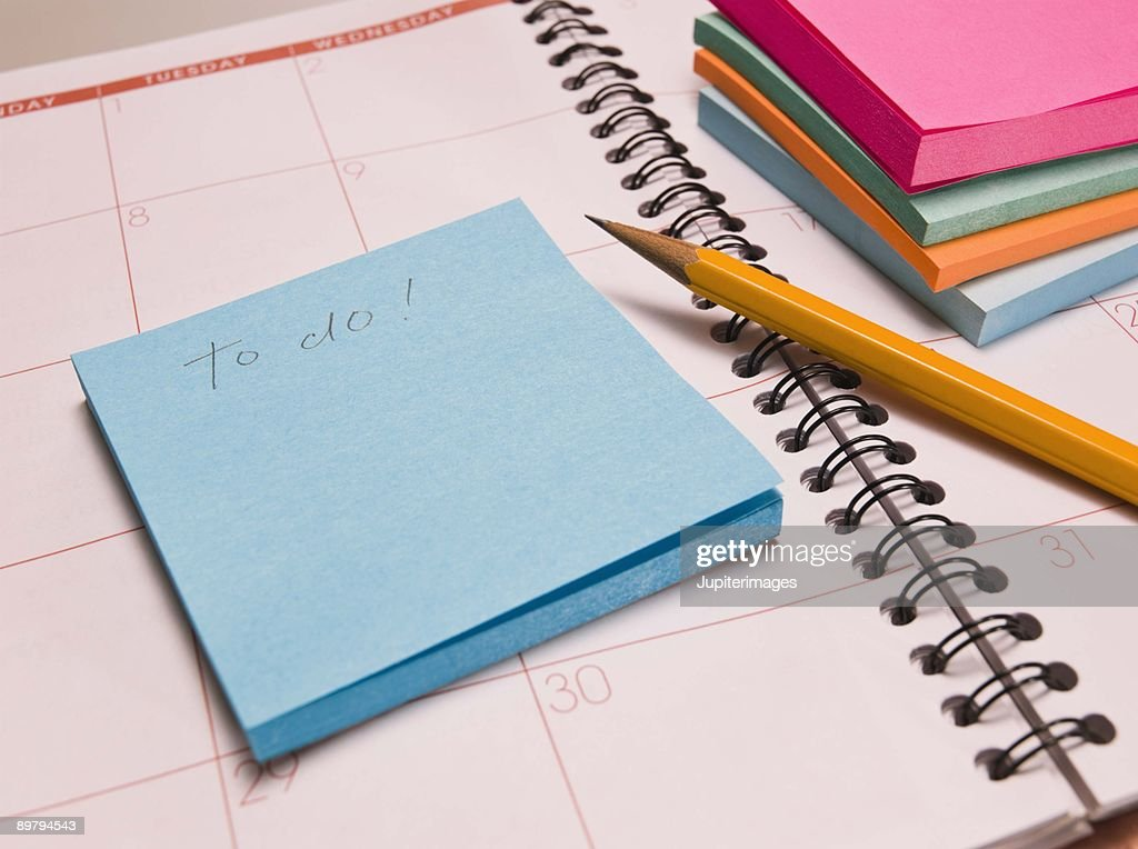 Pencil and paper : Stock Photo