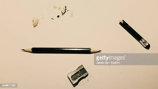 Pencil And Pencil Sharpener