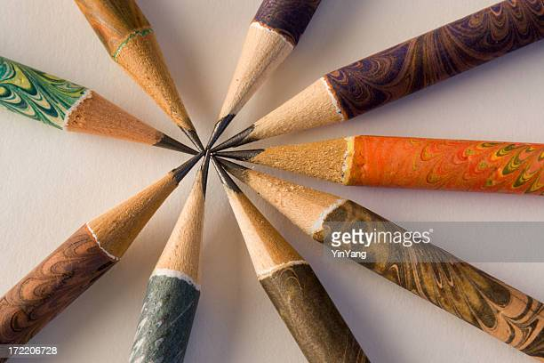 Pencil Community for Cooperation, Teamwork and Agreement