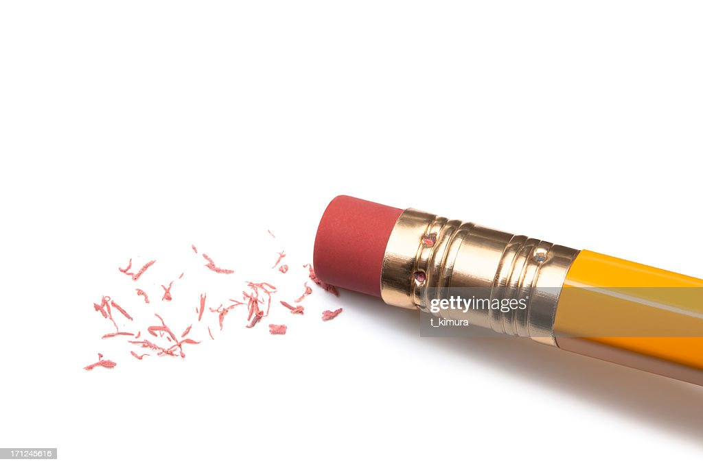 Pencil Eraser : Stock Photo