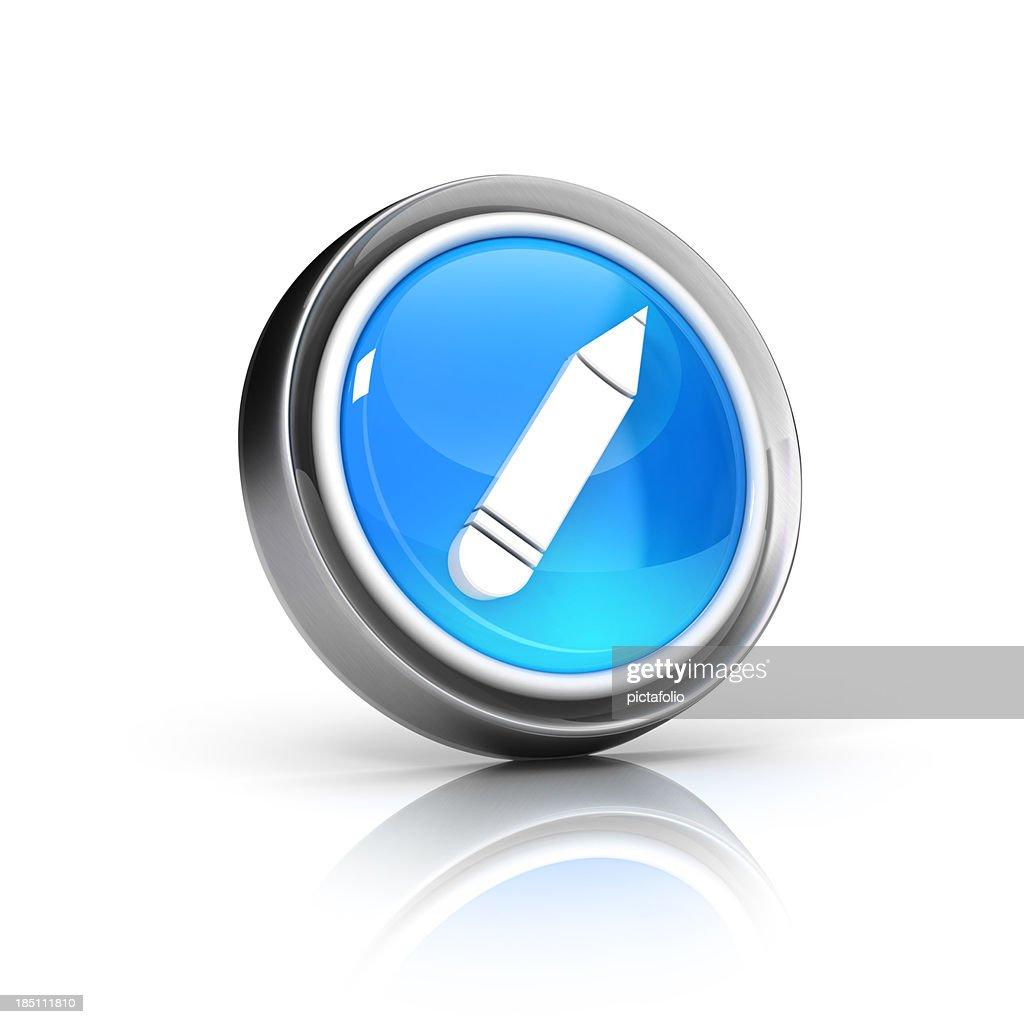 pencil icon : Stock Photo
