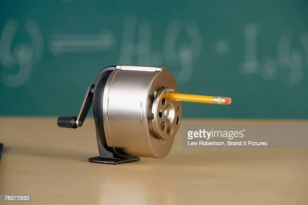 Pencil in sharpener