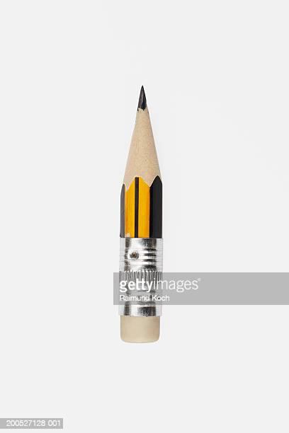 pencil nearly sharpened to eraser - 鉛筆 ストックフォトと画像