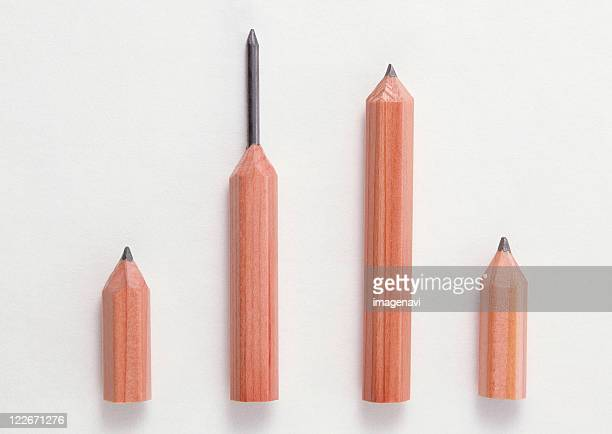 pencil - parallel stock photos and pictures