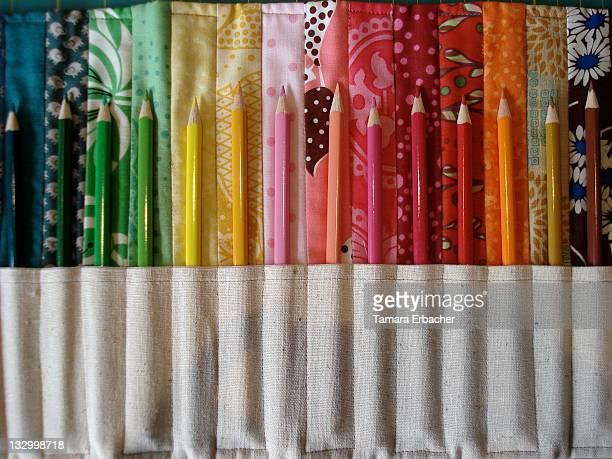 pencil roll - tamara rotolo foto e immagini stock