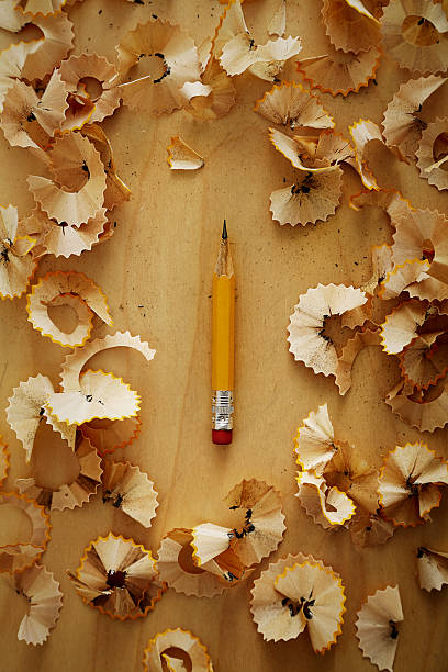 Pencil Sharpened Down To A Stub Wall Art