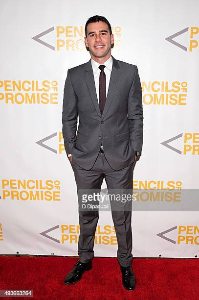 Pencils of Promise founder and CEO Adam Braun attends the Pencils of Promise Gala 2015 at Cipriani Wall Street on October 21 2015 in New York City