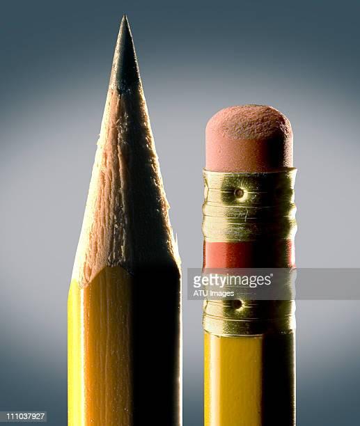 pencils on gray