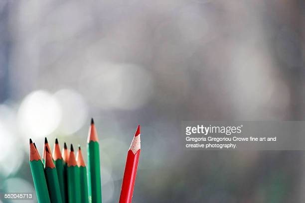 pencils - gregoria gregoriou crowe fine art and creative photography. stock pictures, royalty-free photos & images