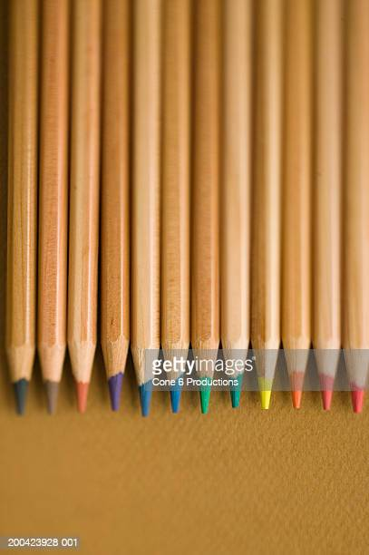 Pencils with colored leads