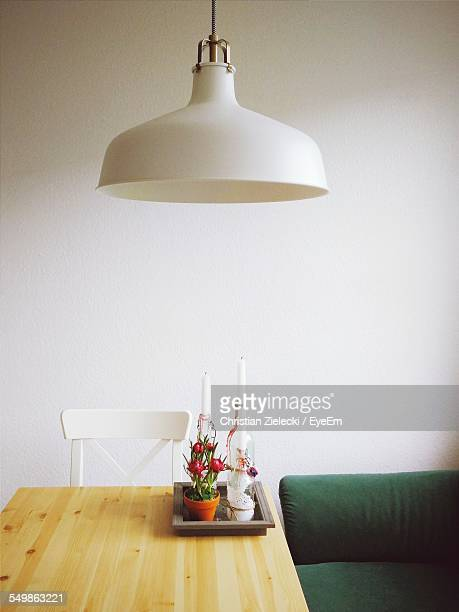 Pendant Light With Dining Table