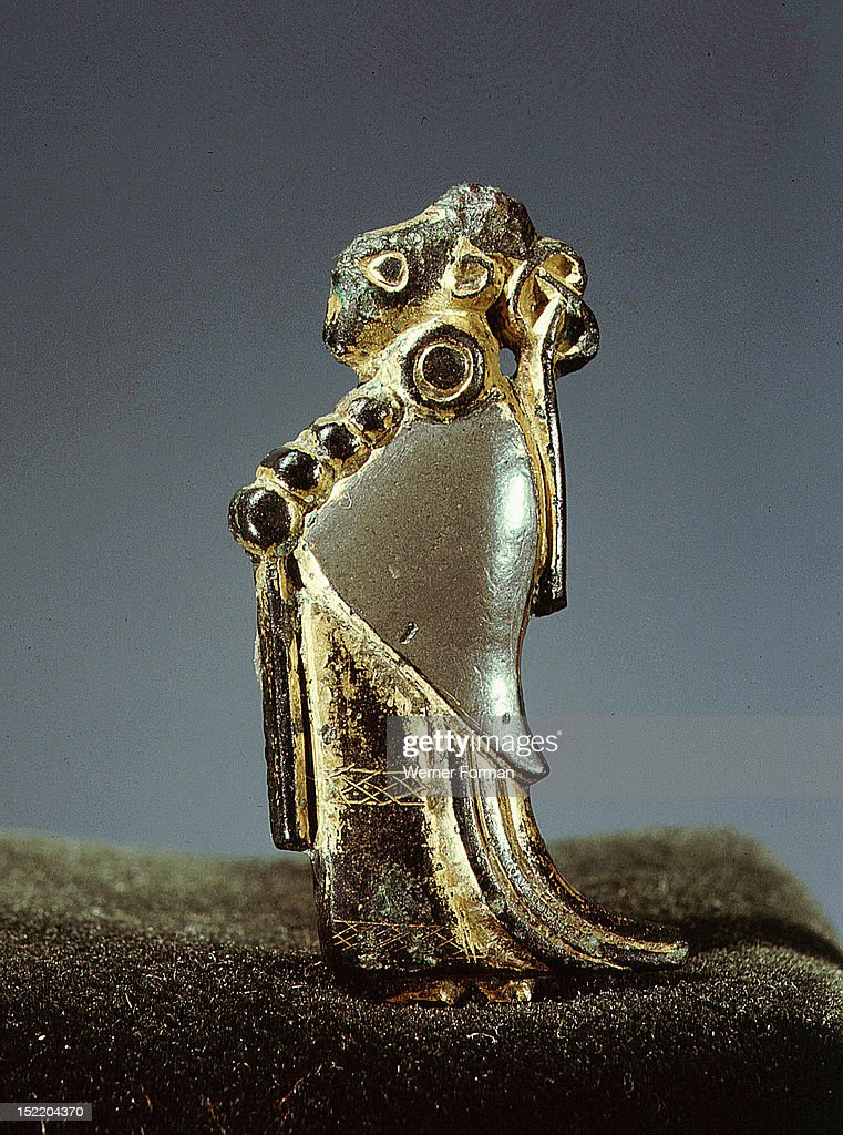 Pendant usually identified as a valkyrie pictures getty images pendant usually identified as a valkyrie sweden viking 6th c oland aloadofball Images