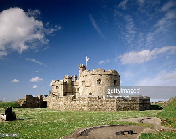 Pendennis Castle Falmouth Cornwall 2004 View of the keep from the south Pendennis Castle was begun in 1540 as part of Henry VIII's defence of the...