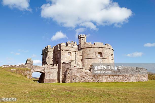 pendennis castle - castle stock photos and pictures