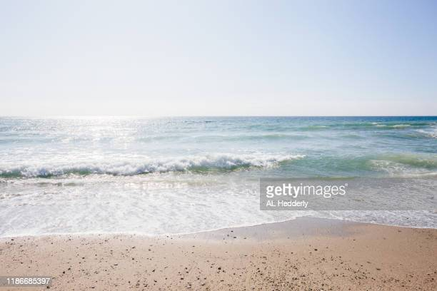 pendower beach - beach stock pictures, royalty-free photos & images