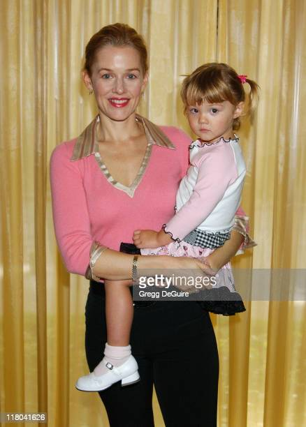 Penelope Ann Miller and Daughter Eloisa during 5th Annual Lullabies & Luxuries Luncheon and Fashion Show Benefiting Caring for Children & Families...