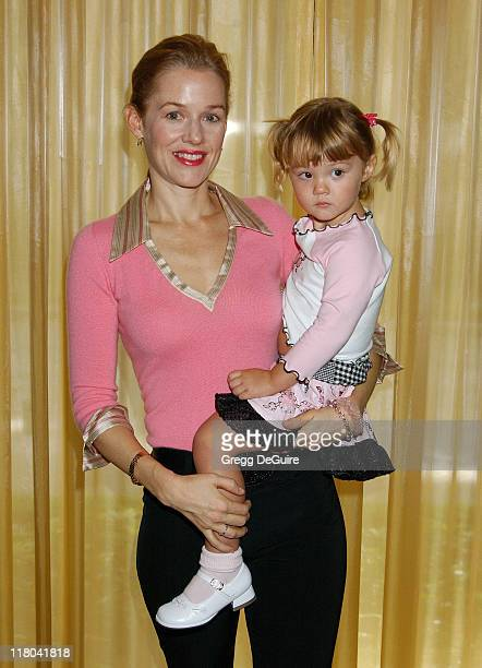 Penelope Ann Miller and Daughter Eloisa during 5th Annual Lullabies Luxuries Luncheon and Fashion Show Benefiting Caring for Children Families With...