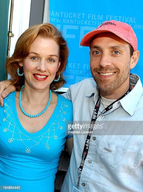 Penelope Ann Miller and Director Jace Alexander during Nantucket Film Festival 8 A Screeninig of Carry Me Home at The Harbor House in Nantucket...