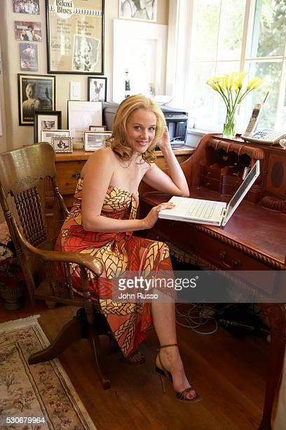 Penelope Ann Miller at Home