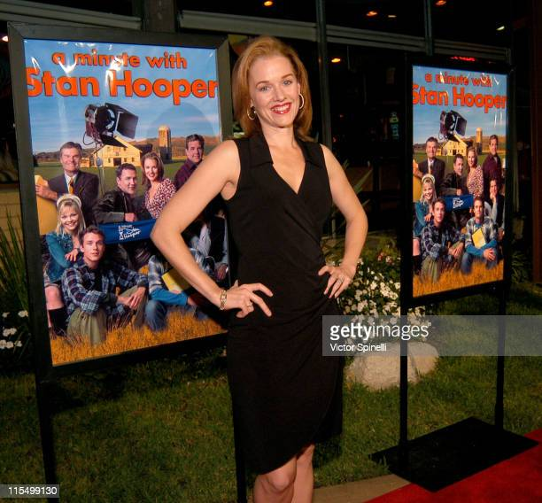 Penelope Ann Miller during 'A Minute with Stan Hooper' Premiere Party at Norm's Diner in Los Angeles United States