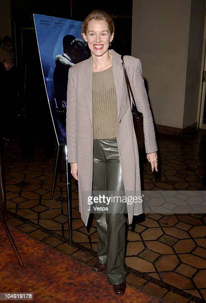 Penelope Ann Miller during AFI Film Festival 2001 Lion's Gate Films Lantana Premiere at Pacific Theatre in Los Angeles California United States