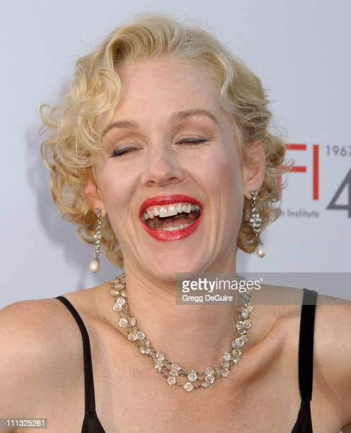 Penelope Ann Miller during Al Pacino Honored with 35th Annual AFI Life Achievement Award Arrivals at Kodak Theater in Hollywood California United...