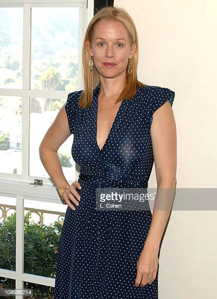Penelope Ann Miller during John Frieda Luminous Color Glaze Pre-Emmy Suite at Roosevelt Hotel in Hollywood, California, United States.