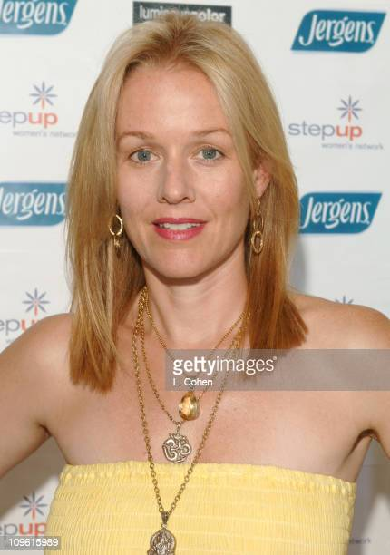Penelope Ann Miller during John Frieda Luminous Color Glaze PreEmmy Suite at Roosevelt Hotel in Hollywood California United States