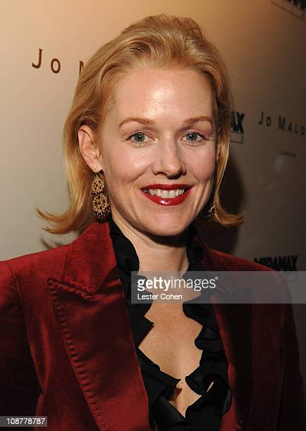 Penelope Ann Miller during Miramax Films and British Fragrance House Jo Malone Join to Celebrate 2007 OscarNominated Films The Queen and Venus at...
