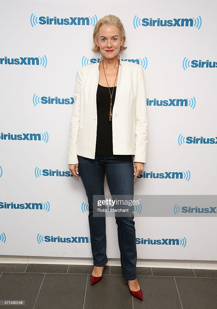 Penelope Ann Miller visits at SiriusXM Studios on April 28, 2015 in New York City.