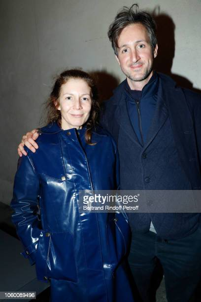 Penelope Blanckaert and her brother Robinson Blanckaert attend Alaia Foundation Library Opening at Galery Azzedine Alaia on November 10 2018 in Paris...