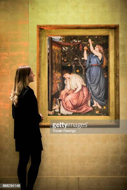 Penelope by John Roddam Spencer Stanhope goes on view as part of the Victorian PreRaphaelite British Impressionist Art at Sotheby's on December 8...