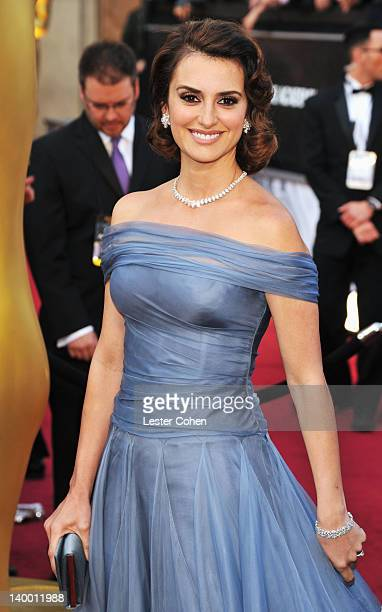 Penelope Cruz arrives at the 84th Annual Academy Awards held at the Hollywood Highland Center on February 26 2012 in Hollywood California