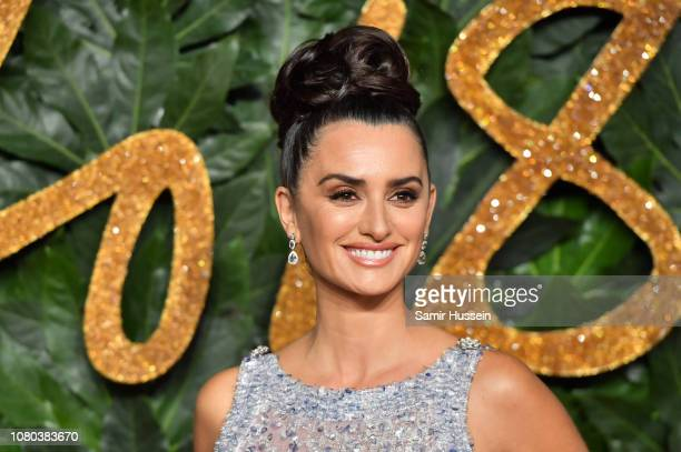 Penelope Cruz arrives at The Fashion Awards 2018 In Partnership With Swarovski at Royal Albert Hall on December 10 2018 in London England