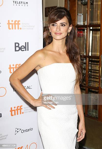 Penelope Cruz arrives at the 'Ma Ma' premiere during 2015 Toronto International Film Festival held at The Elgin on September 15 2015 in Toronto Canada