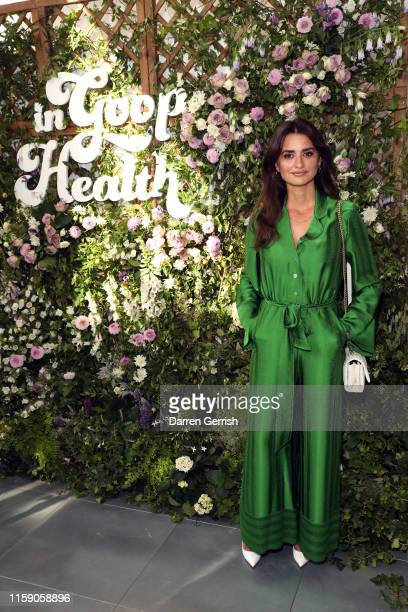 Penelope Cruz at In goop Health London 2019 on June 29 2019 in London England