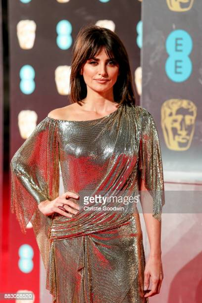 Penelope Cruz at the British Academy Film Awards 2017 at The Royal Albert Hall on February 12 2017 in London England